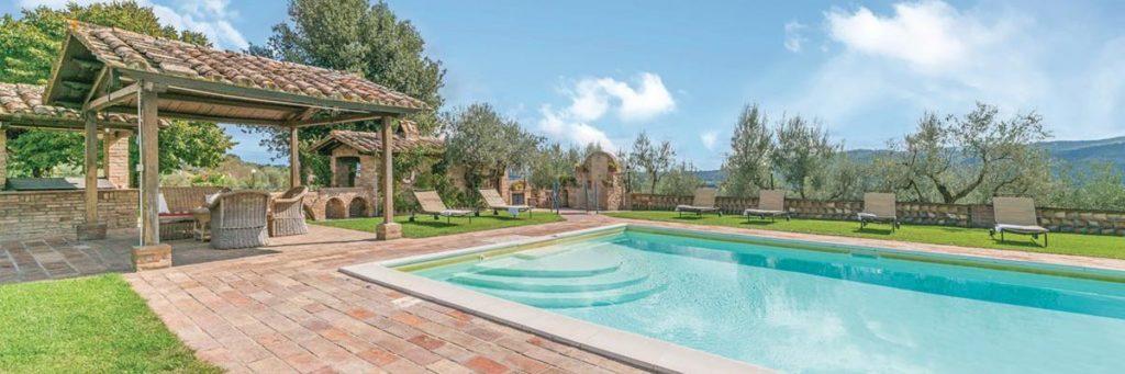 agriturismo piscina perugia Casale Villa Chiara Torgiano