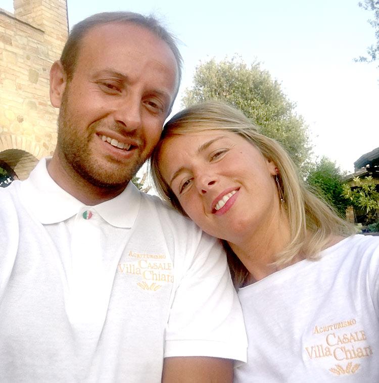 Staff dell'Agriturismo Villa Chiara Torgiano Perugia